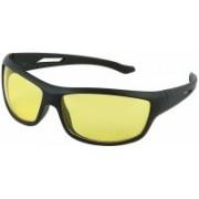 jazz style Wayfarer, Sports, Over-sized Sunglasses(Yellow)