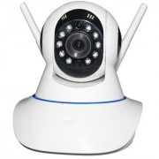 ZEMINI Wireless HD CCTV IP wifi Camera | Night vision Wifi 2 Way Audio 128 GB SD Card Support for OPPO N3