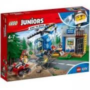 Конструктор Лего Джуниърс - Полицейско преследване в планината - LEGO Juniors, 10751
