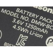 Panasonic Kamerabatteri Panasonic DMW-BCJ13E 3.6 V 1250 mAh