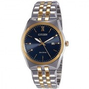 Citizen Analog Blue Dial Mens Watch-Bm7334-66L