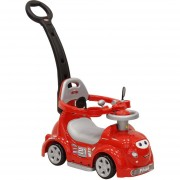 Carro Montable Prinsel Discovery Claxon Pus Car Rojo