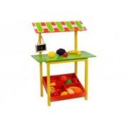 Set Joaca Aprozar Din Lemn Globo Legnoland 37451 Cu Fructe Si Legume