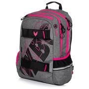 OXY Sport GREY LINE pink hátizsák
