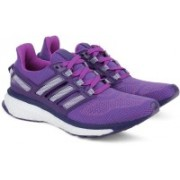 ADIDAS ENERGY BOOST 3 W Running Shoes For Women(Purple, White)
