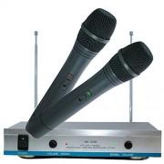 Set 2 microfoane wireless karaoke AK-3300