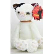 Gotovang New Arrival Kawaii 40cm Tamino Maita scratch Cat Plush Toy Stuffed Cool Unhappy Kitty Black/White/Gray Color Cat Toy Gifts