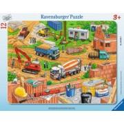 Puzzle Copii 3Ani+ santier, 12 piese