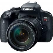 Cámara Canon t7i con lente 18-135 mm