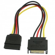 PROMOTIEPC SATA 15 Pin Man-vrouw HDD Power Kabel Converter Adapter