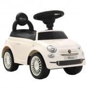 """Sonata Детска кола за яздене """"Fiat 500"""" бяла"""