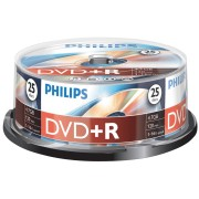PHI DR4S6B25F/00 - Philips DVD+R 4.7 GB, 16x speed, 25 spindle