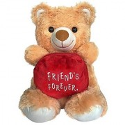 Ultra Friends Forever Teddy Soft Toy 15 Inches - Brown