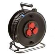 Schwabe kabelhaspel rubber met thermische beveiliging 25 meter 10116