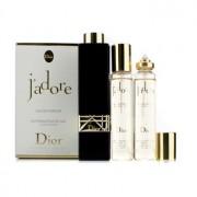 J'adore Eau De Parfum Refillable Purse Spray 3x20ml/0.67oz J'Adore Парфțм Спрей за Дамска Чанта Презареждаем