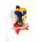 Trandafir criogenat rainbow cupola