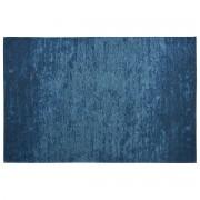 Miliboo Tapis bleu acrylique-coton 155x230 STONE