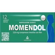 Angelini Momendol 12 Compresse Rivestite 220mg