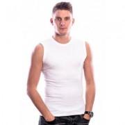 Beeren Bodywear Sleeveless Shirt Round Neck White ( 3 pack)