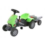 Traktor Turbo na pedale sa prikolicom - zeleni (17/52742)