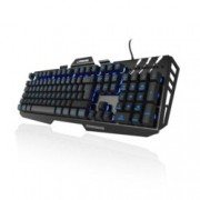 Клавиатура Hama Urage Cyberboard, гейминг, подсветка, черна, USB