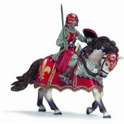 Schleich Fleur-De-Lis Red Knight On A Horse With Sword