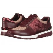 Michael Kors Allie Trainer Oxblood
