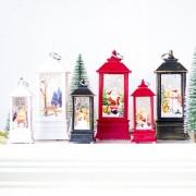 EY Adornos Navideños Navidad Alces Decorativos Lámpara Colgante-Bronce