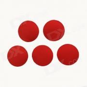 Impermeable de alta seguridad duradera hebilla Super pegamento para el deporte de la camara / Gopro Heroe 4/2 / 3/3 + - Rojo