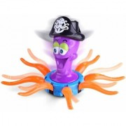 SHRIBOSSJI Octopus Captain With Moving Tentacles Battery Toy with Music Light Learning Educational Toys Gifts For Kids