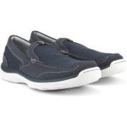 Clarks Marus Step Navy Casuals For Men(Blue)