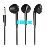 DKM Inc Noise Cancellation Noodle In Ear Earphones with Mic for Blackberry Phones