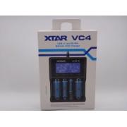 Incărcător acumulatori XTAR VC4 Li-Ion și Ni-Mh 1,2V 3,6V 3,7V 18500, 18650, 18700, 22650, 26650 etc.