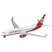 Daron Herpa Air Berlin Turkey 737-800 Model Kit (1/500 Scale)