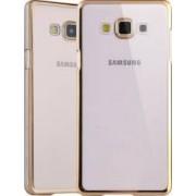 Husa Din Silicon OEM Electroplating Samsung Galaxy J5 J500 2015Auriu
