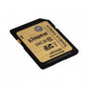 Memóriakártya, SDHC, 16GB, Class 10, KINGSTON UHS-I Ultimate Card