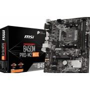 MSI B450M PRO-M2 MAX - Moederbord - Micro-ATX - Socket AM4 - AMD B450 - 2x DDR4 - Gb LAN