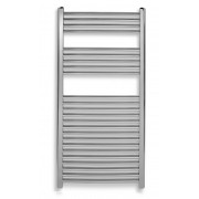 Radiator de baie cromat, simplu, drept 450*1200