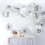Ballonggirlang Silver
