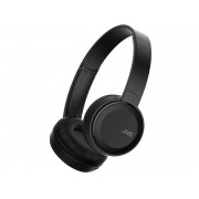 JVC Auriculares Bluetooth JVC HA-S30BT (On ear - Micrófono - Negro)