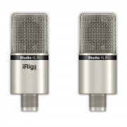 IK Multimedia - iRig Mic Studio XLR - Kondensator Großmemebran Studio Mikrofon