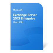 Microsoft Exchange Server 2013 Enterprise User CAL, PGI-00432 електронен сертификат