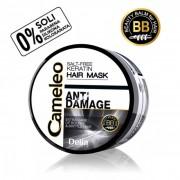 CAMELEO BB - ANTI DAMAGE - Maska sa keratinom i uljem makadamije za izuzetno oštećenu i suvu kosu - Bez soli 200ml
