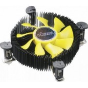 Cooler Procesor Akasa AK-CC7118HP01 K25 Ventilator PWM Galben