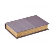 Monograph Förvaring/bog, Squares, burgundy, 26x17x5 cm