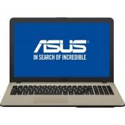 Laptop ASUS VivoBook 15.6 inch X540UB, FHD, Procesor Intel® Core™ i3-7020U 2.30 GHz, 4GB DDR4, 256GB SSD, GeForce MX110 2GB, Chocolate Black