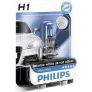 Bec auto Philips H1 12V 55W P14.5s White Vision Blister