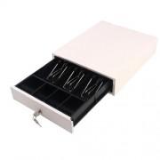 Сейф / чекмедже за пари CDE350W, метален, бял