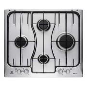 Electrolux inoxmanopole rgg6242lox piano cottura 60cm soft, cross cook, 4 fuochi gas, bruci Piccoli elettrodomestici casa Elettrodomestici