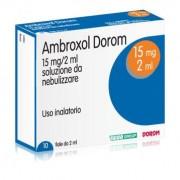 Teva Ambroxol Dorom 15 Mg Soluzione Da Nebulizzare 10 Fiale 2 Ml